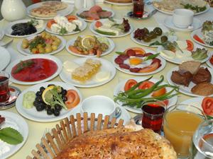 Yeşilköy`de Kahvaltı
